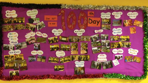 100 day board