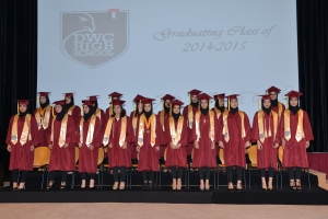 DWCHS 1st Graduation Ceremony a resounding success!
